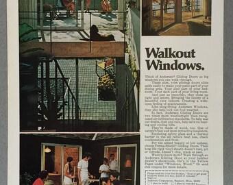 1979 Anderson Windows Print Ad