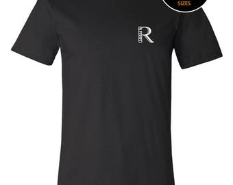 Real Blessed Men Logo Tee - Black - Blue - Army Green - Gray - Red