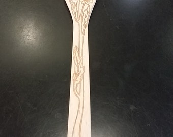 Wooden Decorative Spoon-Sunflower