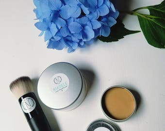 Large Combo | Powder and Face Balm with 40% off Brush