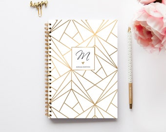 A5 Planner - 2018 Planner - 2018 Weekly Planner - Personalized Planner - 2018 Diary - Custom Gift -  2018 Agenda