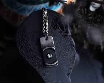 Lux in tenebris pendant.