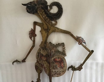 Vintage Indonesian Shadow Puppet
