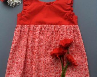 Little dress - Red Delft 1