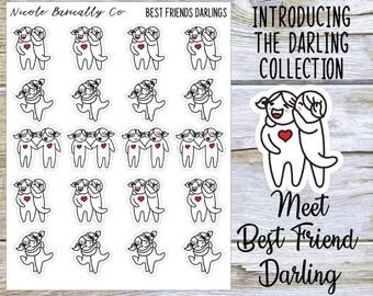 Best Friend Darlings Planner Stickers