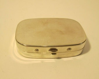 Silverplate Travel Sewing Kit