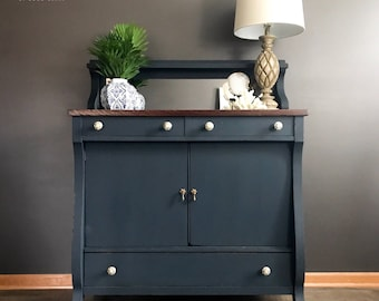 SOLD  Antique Empire Buffet, Sideboard, Traditional, Modern, Dining Room,  Living