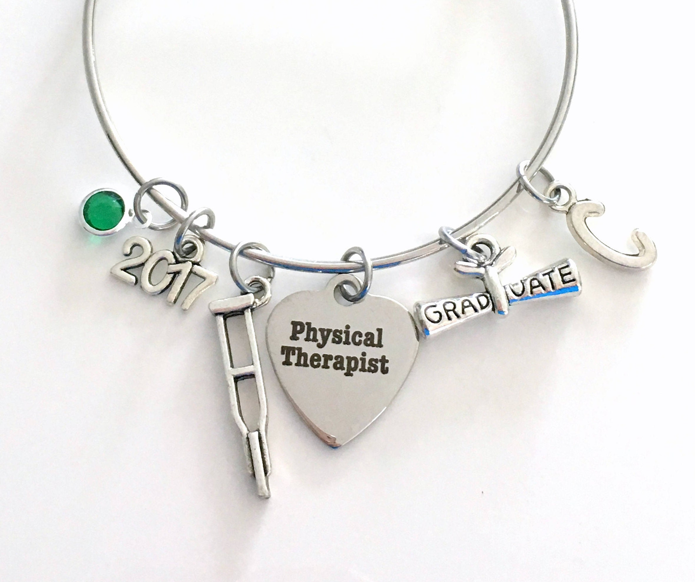 ro bracelet registered graduation lola jewelryd airbrush nurse graduate product charm new a
