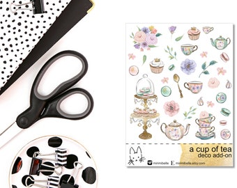 A Cup Of Tea - ADD-ON Deco Sticker