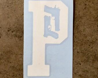 Portland Guns Vinyl Decal