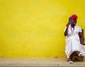 Cuba Photography, Cuban Lady with Cigar, Havana Photography, Cuba Print Art, Cigar Art, Cigar Photography, Cigar Wall Art, Smoker, Smokeshop