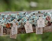 Mountain of Healing & Hope,  4mm, Amazonite, Charm Bracelet, Choose 1 charm, wrap bracelet,yoga, gift for her, healing