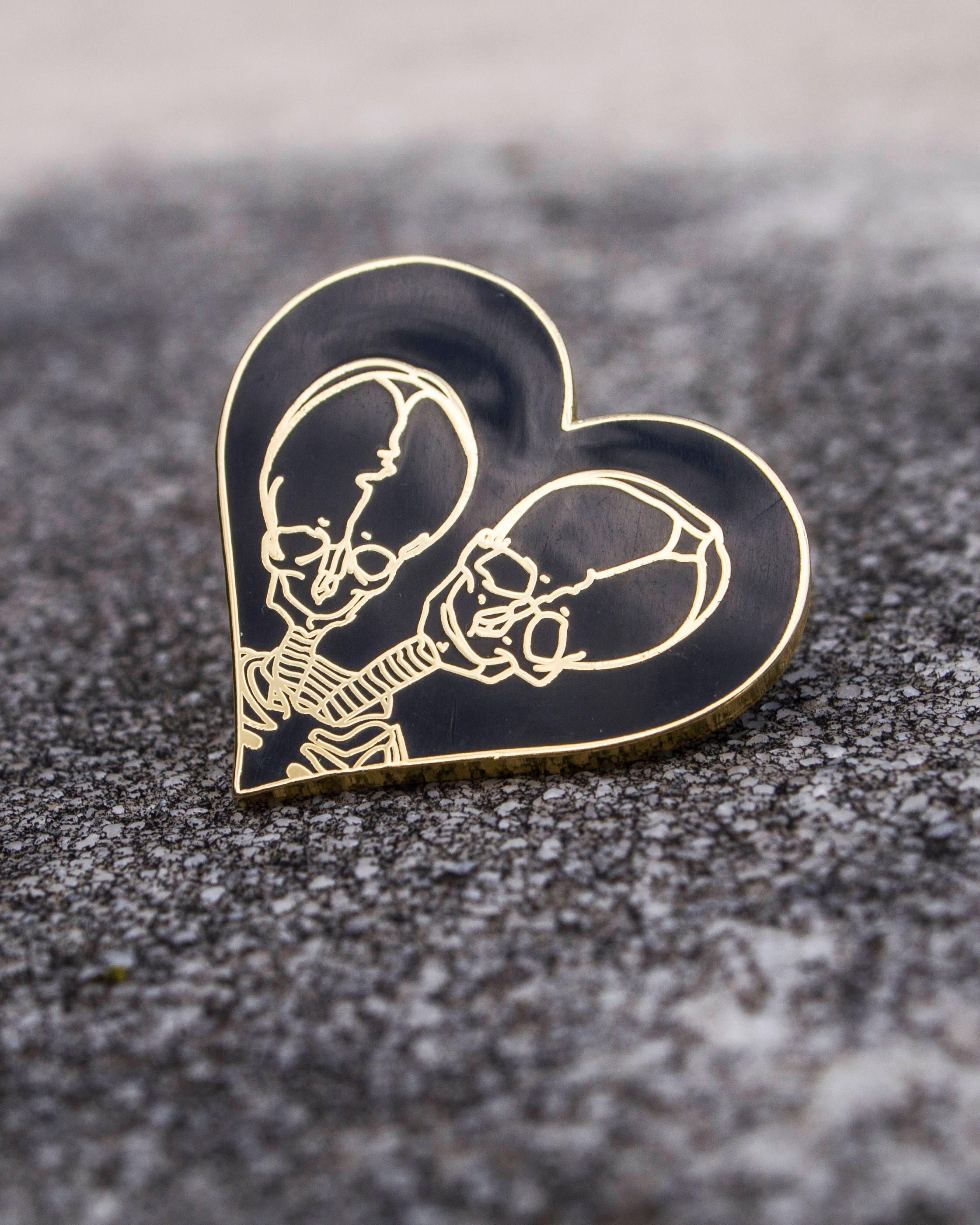 Together Forever Enamel Pin
