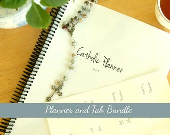 2018 Catholic Planner and Tab Package: Weekly Liturgical Calendar *SALE*