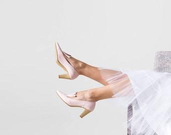Pink heels, Wedding heels, High heels, Leather heels, Bridal shoes, Pumps, Heels, High heel shoes, Wedding shoes, Pink shoes