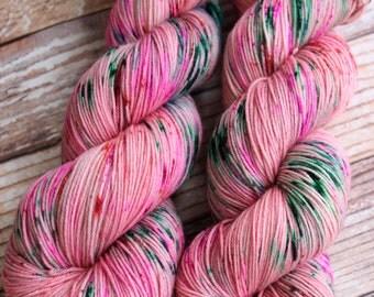 Isabel - Spring Fling - Hand Dyed Yarn - 75/25 Superwash Merino/Nylon