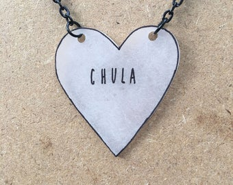 Chula : Heart-Shaped Necklace