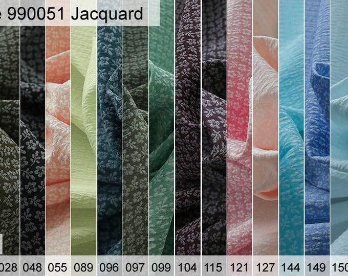 990051 Jacquard sample 6 x 10 cm