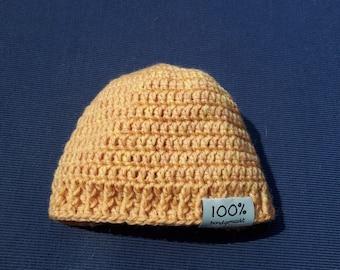 Crochet wool babumutsje