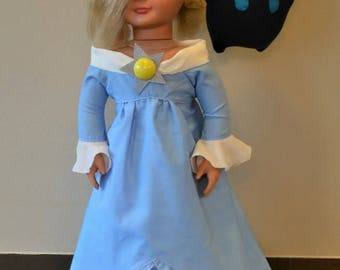 Fits American Girl Doll- like Rosalina Dress & Luma Plushy