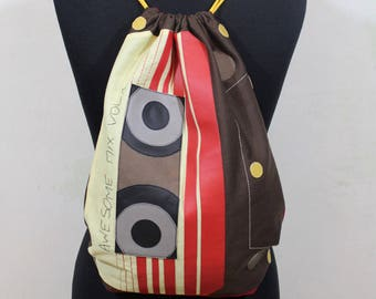 Guardians of the Galaxy / Awesome Mix Vol 1 Inspired Drawstring Bag