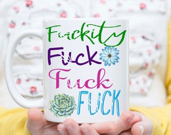 F Bomb, Curse Word Mug, Funny F*ck Mug, Cursing Mug, Cussing Mug, Mug with Curse Words, Funny Curse Word Mug, F*ck Mug, F*ckity Mug,