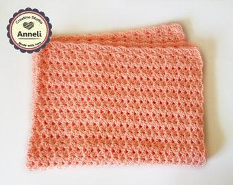 Crochet Baby Blanket/ Baby Blanket/ Crochet Blanket/ Soft baby blanket/ Crib size