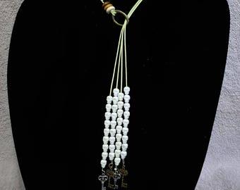 Green Skull Necklace