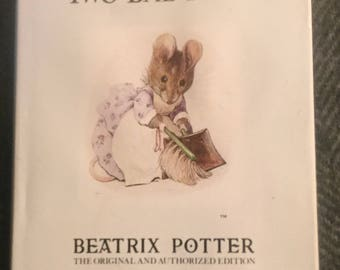Beatrix Potter Book -The Tale of Two Bad Mice