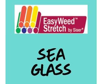 Siser EasyWeed Stretch Heat Transfer Vinyl - HTV - Sea Glass