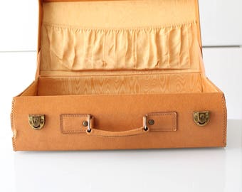 Yellow suitcase | Etsy