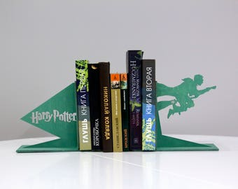 Harry Potter bookends - Handmade nursery decor, gift idea for kids - Home decorations, accessories