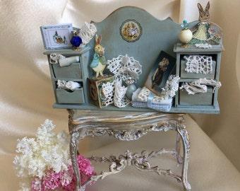Handmade Shabi Chic shelf.