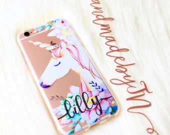 Unicorn Phone case iPhone 7 case iPhone 7 Plus case iPhone 6s case iPhone 6s Plus case iPhone 8 case iPhone 8 Plus case iPhone x case