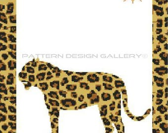 Jaguar Graph Chart Afghan Crochet Pattern Wild Jaguar Graphgan Afghan Crochet Pattern PDF Instant Download