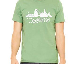Disney Shirts Disney Mountains Mountain Man Shirt  disney shirt disneyland Shirt Disney World Shirt Magic Kingdom Shirt