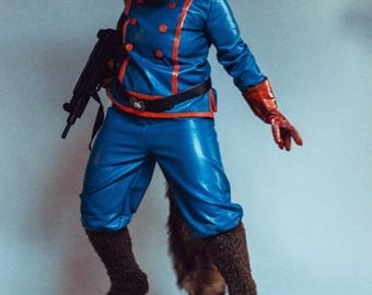 Guardians of The Galaxy cosplay Rocket costume craft fursuit