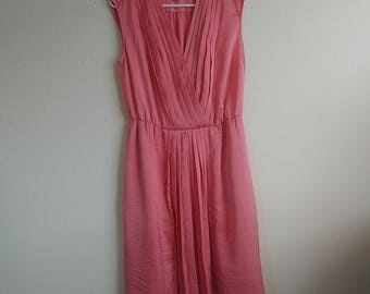 Flamingo Pink Talbot Dress