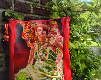 "Tablet Bag ""Summer Goddess"""