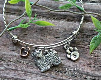 Yorkie Bracelet, Yorkie Jewelry, Yorkshire Terrier