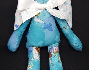 Disney Tinkerbelle 100% Cotton Fabric Bunny