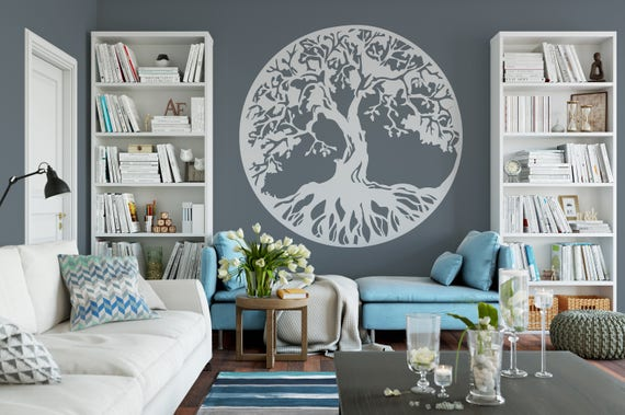 Tree Of Life, Wall Decor, Room Decor Vinyl Wall Mural Decal