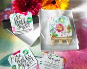 Inspirational Gift: Feel Good Art for an Inspired Day Card Deck + Easel