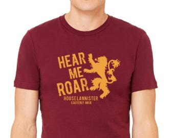 House Lannister tshirt Game of Thrones tshirt Winter is Coming shirt Mother of Dragons shirt House Stark shirt House Baratheon shirt shirt