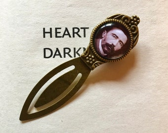 Joseph Conrad Bookmark - Joseph Conrad Gift, Heart of Darkness Bookmark, Heart of Darkness Gift, Literature Gift, Modernist Author Bookmark