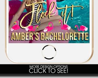 BACHELORETTE PARTY, Bachelorette Party Snapchat Filter, Let's Flamingle, Last Flamingle, Flock it, Flamingo Snapchat Filter, Custom Snapchat