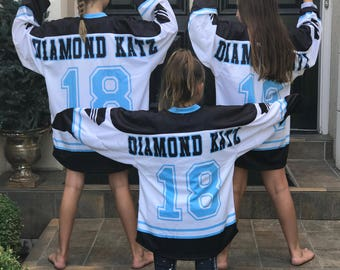 Custom Hockey Jerseys / Custom Hockey Jersey DESIGN / Youth - Adult 3XL / Bulk Custom Jerseys / Team Jerseys / Spirit Jerseys