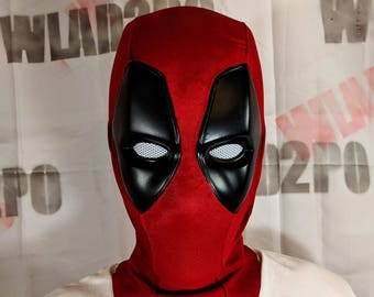 DEADPOOL mask v2 untextured