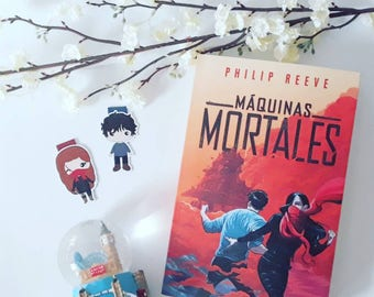 Magnetic bookmarks - Mortal Engines, Philip Reeve