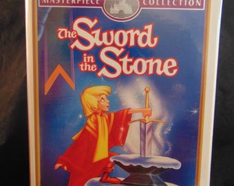 The Sword and the Stone Vintage Disney VHS